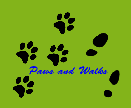 Paws and Walks Logo